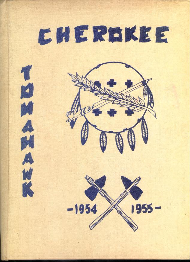 Tom Tom - Cherokee 1954-1955 Year Book