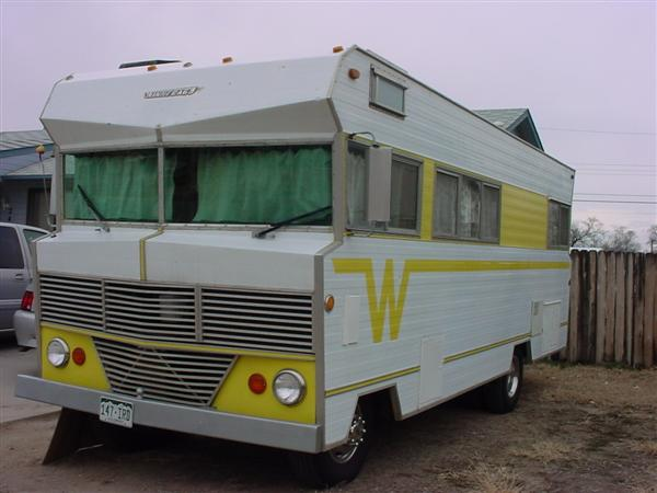 Winnebago motorhome pictures by model year the for Classic motor homes for sale
